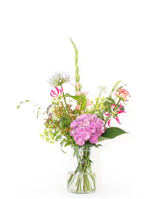Klein boeket voor bloemen abonnement