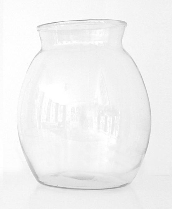Large vase for flower subscription